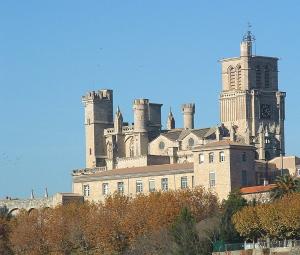 Die Kathedrale von Béziers