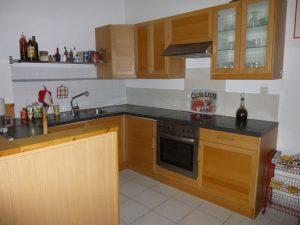 Ein Blick in den Küchenbereich